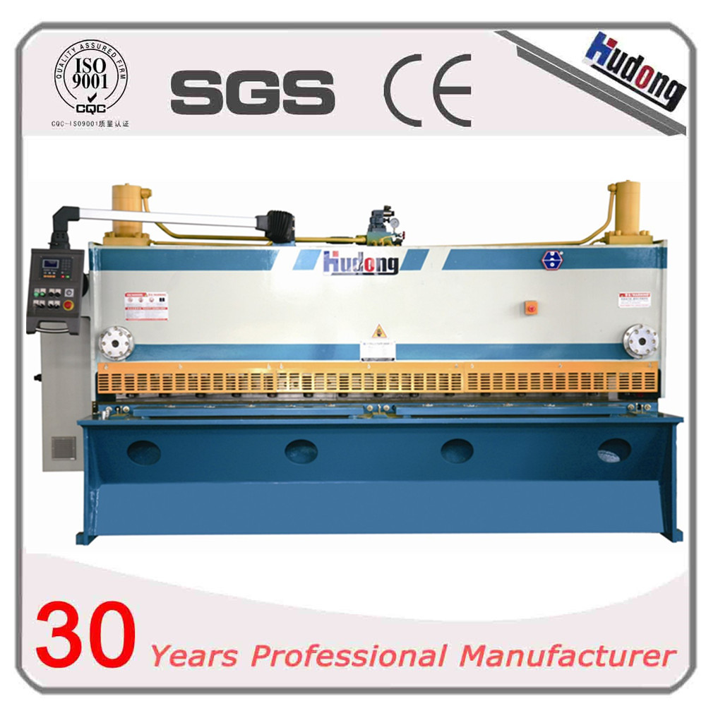 Hudraulic servo CNC guillotine shearing machine with high quality