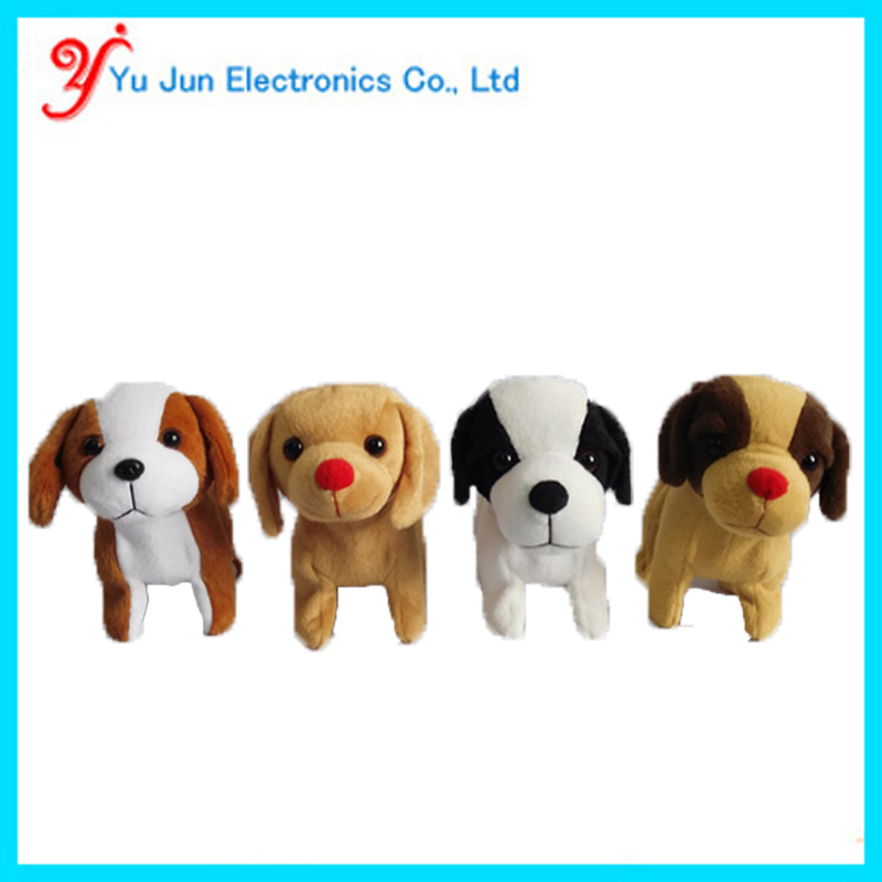 Animated walking puppy toy