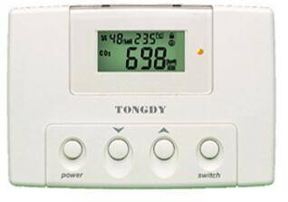 High accuracy CO2 & temp. & humidity controller for greenhouse with optional  RS485 interface
