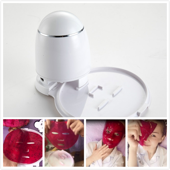 New design homemade face mask machine dry skin