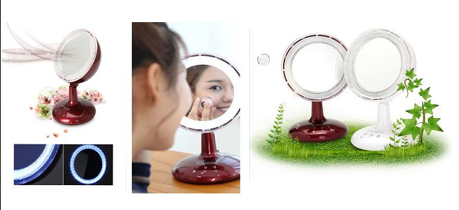 LED wind mirror