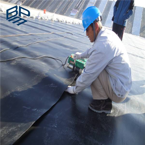 2mm hdpe geomembrane two sides smooth