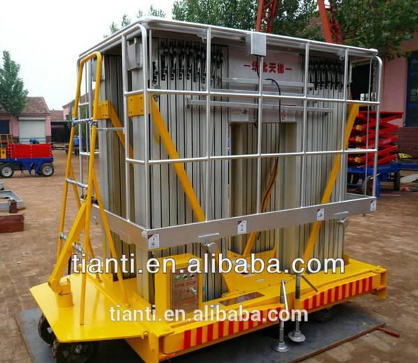 HJPT four column aluminum work platform