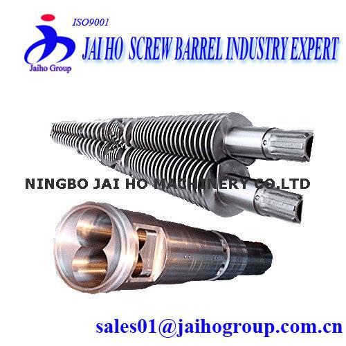 Cincinnati Extruder Conical Twin Screw &Barrel