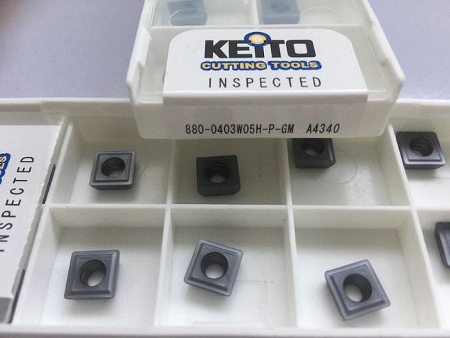 Carbide inserts 880-0403W05H-P-GM
