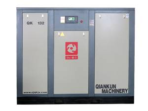 Frequency Saving Energy Electric Fixed Screw Air Compressor (QK132KW)