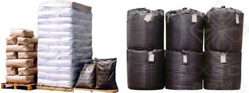 Wood based powder physical activated carbon