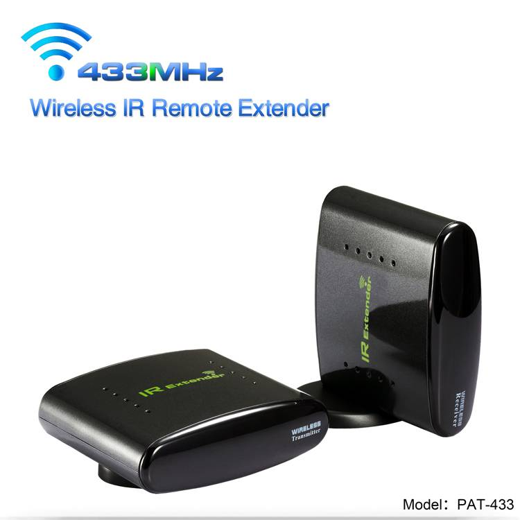 PAKITE 433.92MHz PAT-433 Wireless IR Remote Control with 200M Transmit Range