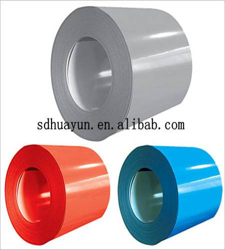 Prime and advanced prepainted galvanized steel coils PPGI