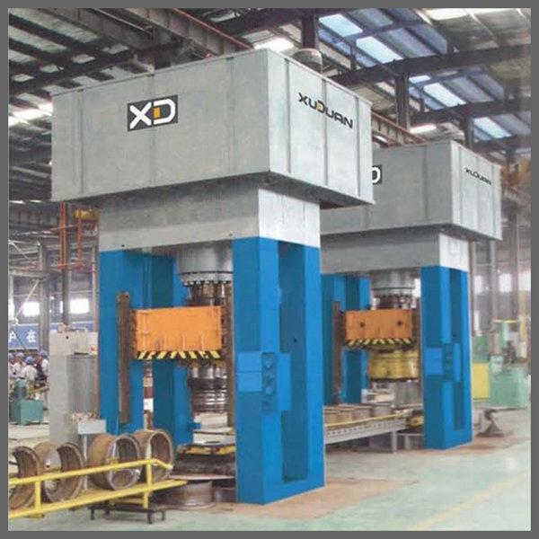 Y34 H Frame 300 600 1000 Ton Hydraulic Press Machine - JIANGSU