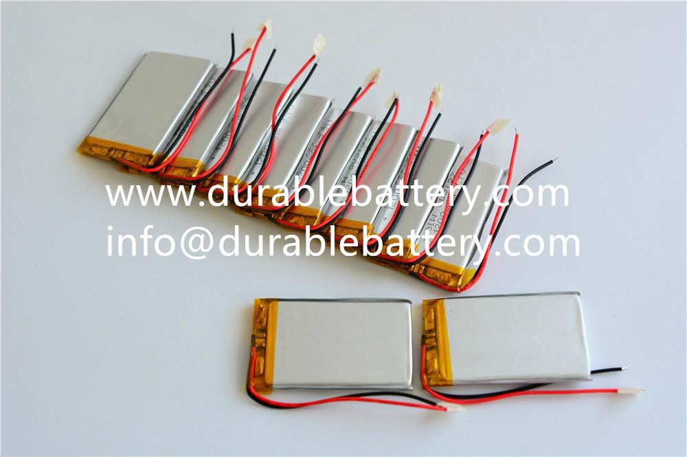 3.7V li-polymer battery 1200mAh 4.44wh 503759 lipo li-po cell
