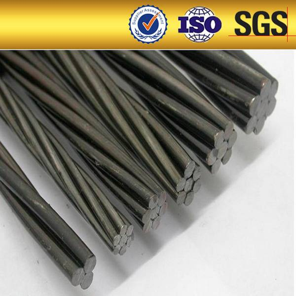 GR270 high tensile strength Low relaxation 7 wire ASTMa416 1860Mpa 15.2mm pc steel wire strand