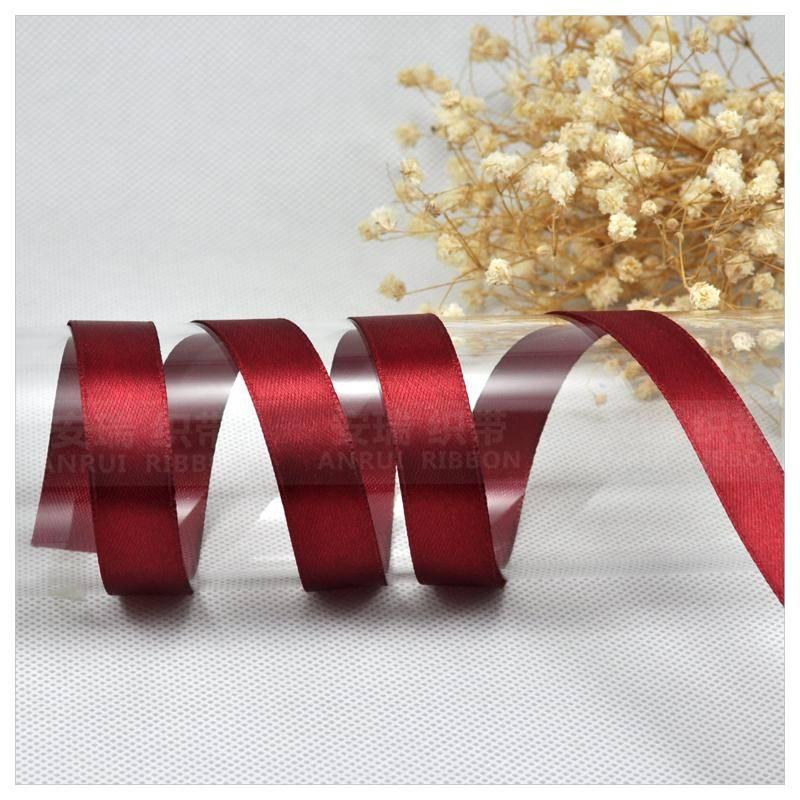 Gift package satin ribbon