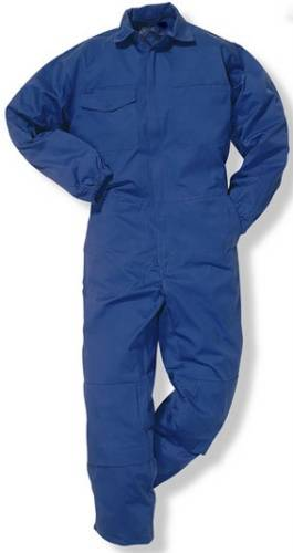 polyester/cotton drill bolier coverall