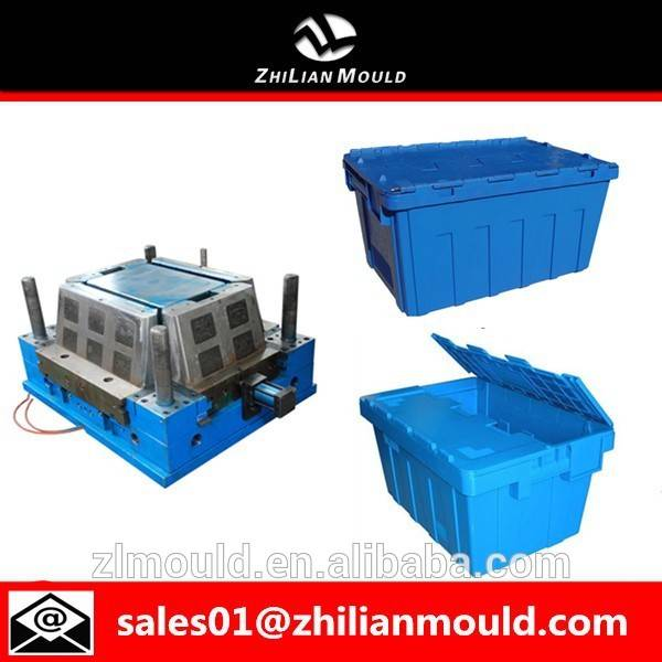 taizhou high quality OEM Plastic Crate Mould Maker Turnover Box Mould