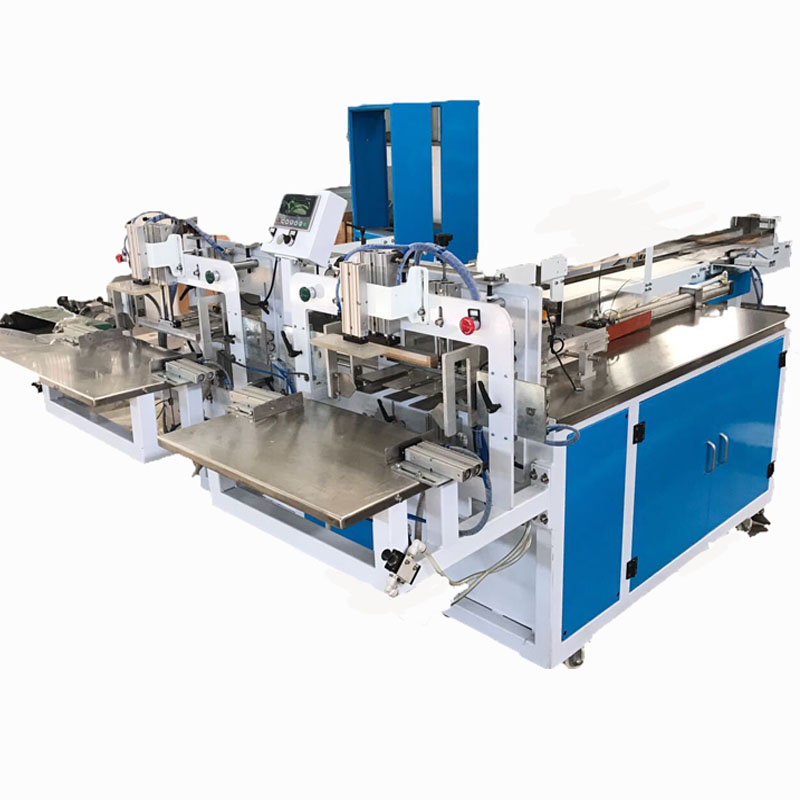 Fully automatic single roll or multi rolls packing machine