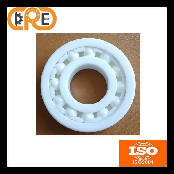 High Speed Anti Friction 6001 ZrO2 Material 12*28*8mm Ceramic Deep Groove Ball Bearings