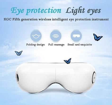 New type wireless foldable music eye massager