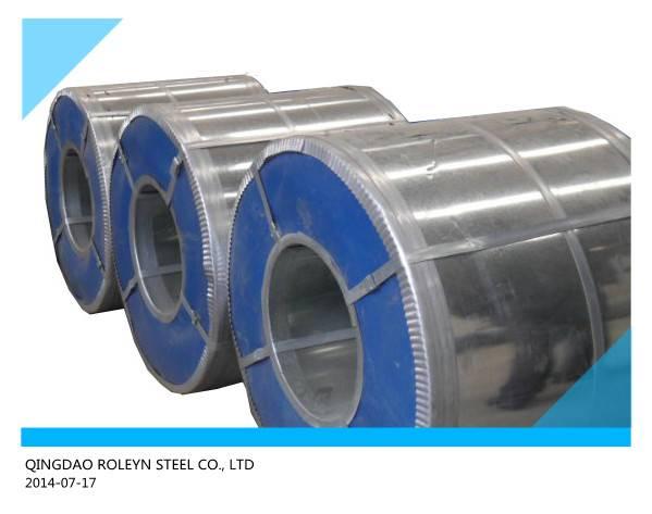 supply full hard Galvanized steel coils 0.13-1.5mm