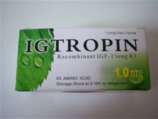 China Original Igtropin HGH 1000mcg/1.0mg 10 vials 10000mcg Kit Somatropin For Sale Lowest Price