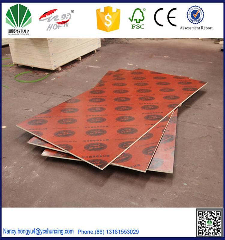 mr wbp melamine film faced shuttering plywood
