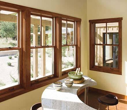 70 Series Aluminum Composite Wood Window