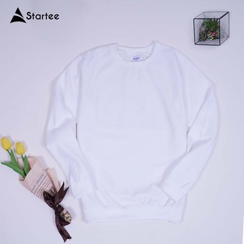 Wholesale Men's winter sweaters, round-neck men's pullover French Terry TC 65/35 in Vietnam
