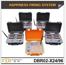 500 m remote control Fireworks Firing System, 96 channels Sequential fireworks system,(DBR02-X24/96)