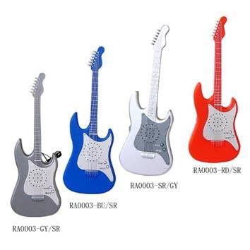 Guitar Shape FM Radio