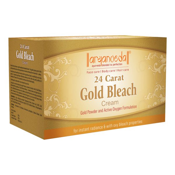 24 Carat Gold Bleach Cream