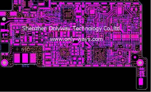 Qualcomm wireless data card pcb design and layout
