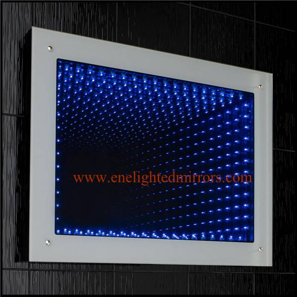 Infinity mirror produced by ENE LIGHTED MIRRORS from China accepted custom oem odm