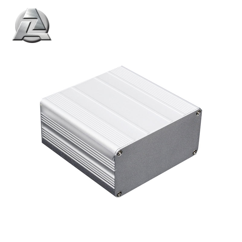 custom silver anodized aluminum enclosure profile China supplier