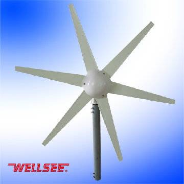 small Squirrel-cage wind turbine