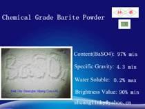 Factory Price White Barite