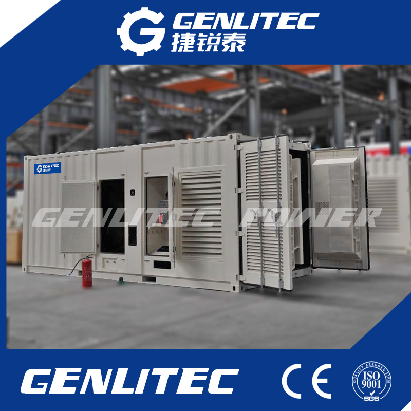 20FT Containerized Diesel Generator Set Cummins Genset From 500kVA - 1000kVA