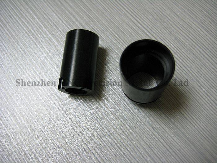 Machining Oxidation aluminum connector part from OEM factory with high precision