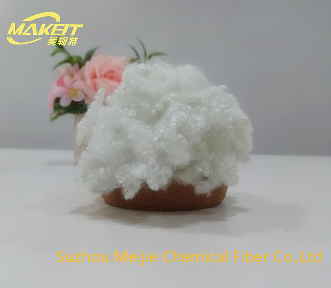 High quality 7D64 recycled hollow conjugated polyester staple fiber
