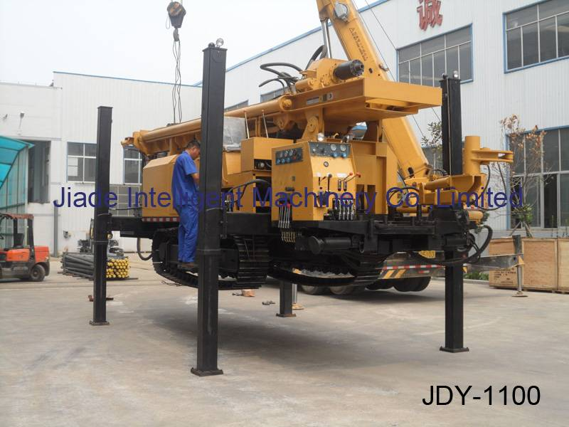 water drilling rig JDY1100, rough neck, hard rock killer