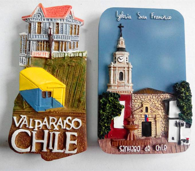 Tourist resin souvenirs magnet,resin fridge magnet
