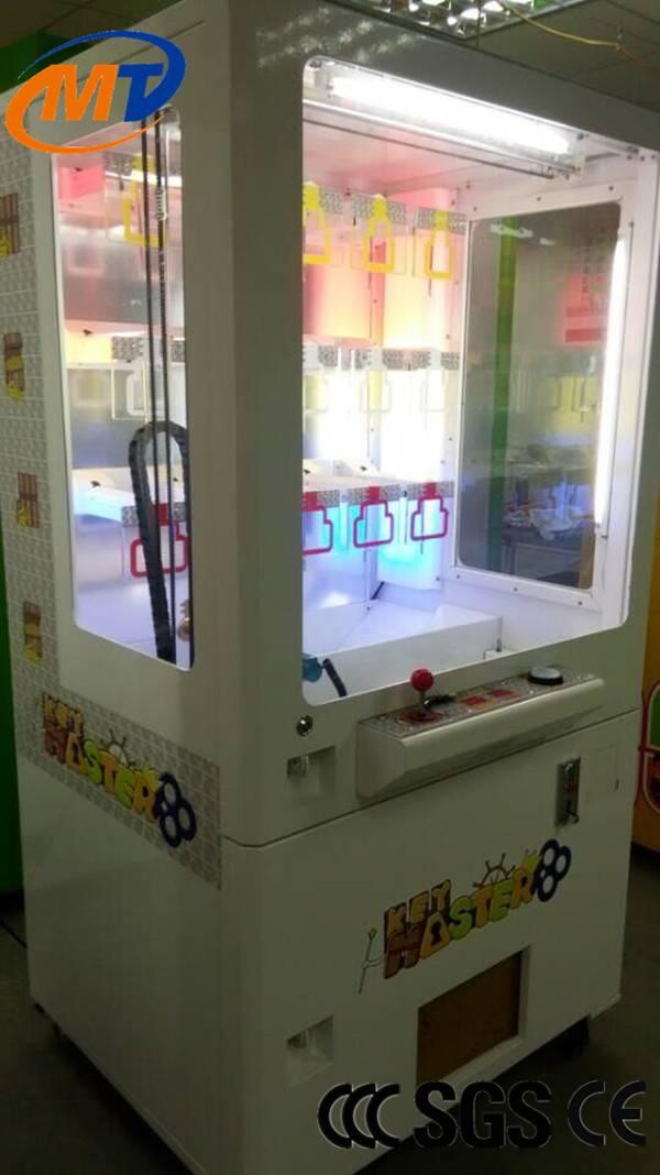 Golden key game machine,key master machine for amusement