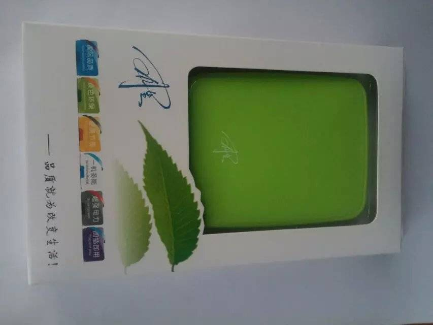 high quality portable quick charger with led light for all kinds of mobile phones