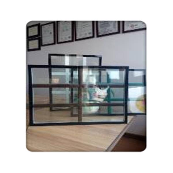 Excellent quality insulated laminated safety glass Insulated blinds glass for door
