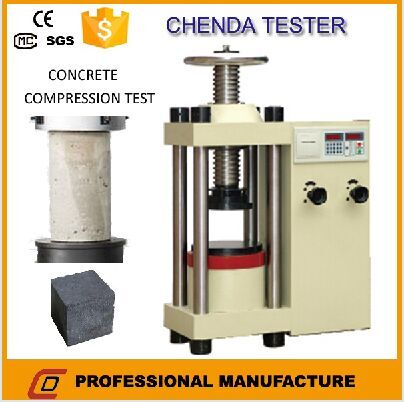 Hydraulic Compression Testing Machine From Chinese Factory
