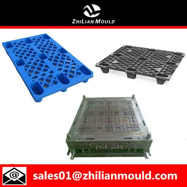 Zhejiang high quality custom single side mold plastic pallet moulds