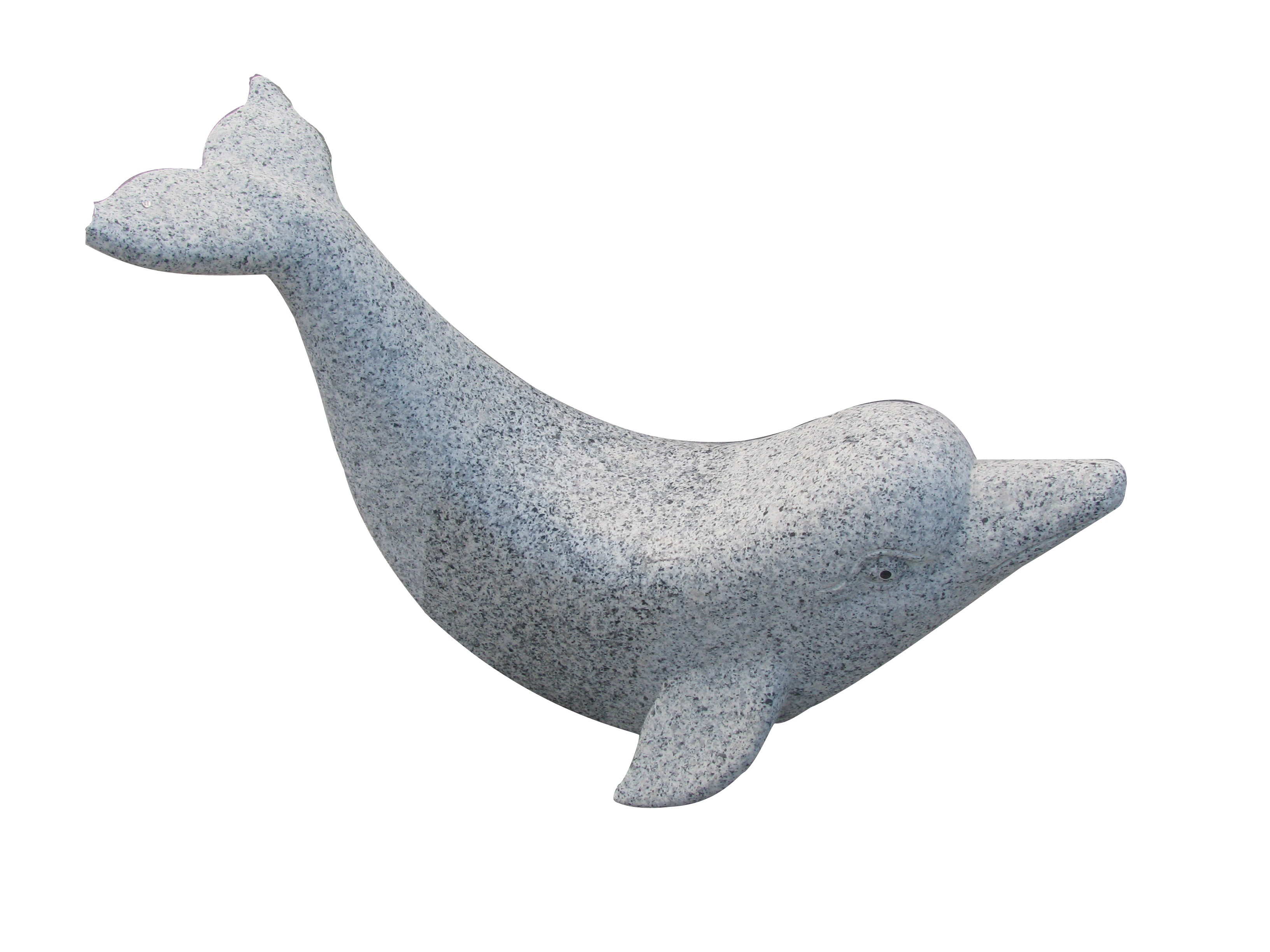 Dolphins rocking chair Sculpture