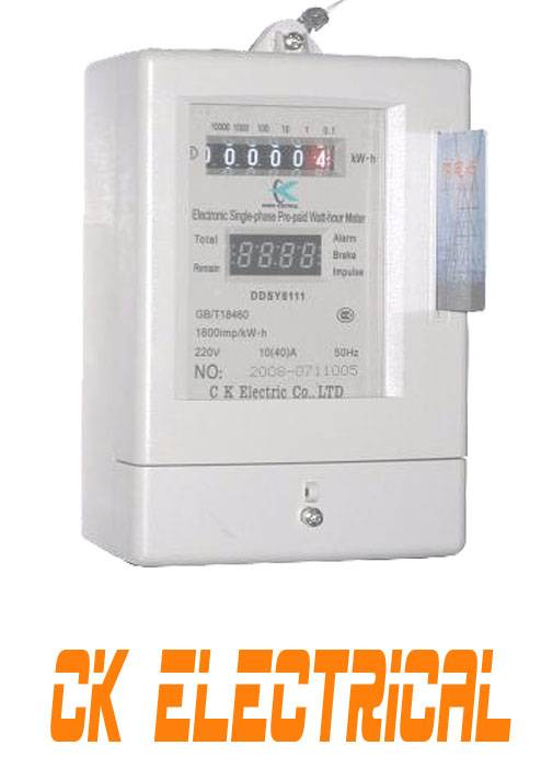 IC Card prepaid  Energy Meter DDSY8111
