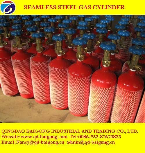 seamless steel  gas cylinder