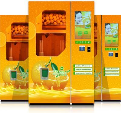 Squeezed Orange Juice Vending Machine