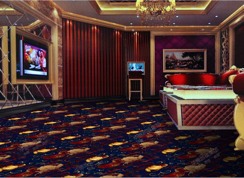 2017 new carpet design and decorative pattern wilton carpet forKTV ,hotel ,ballroom